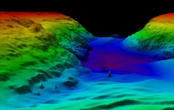 bathyemetric image